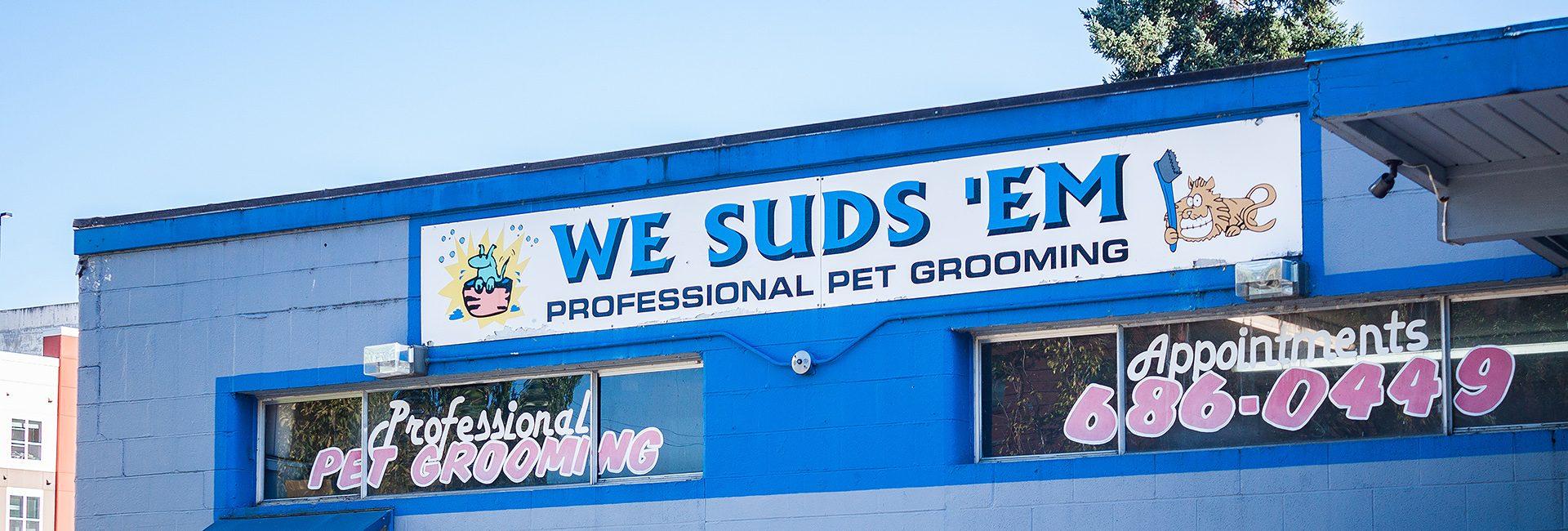 We Suds 'Em storefront